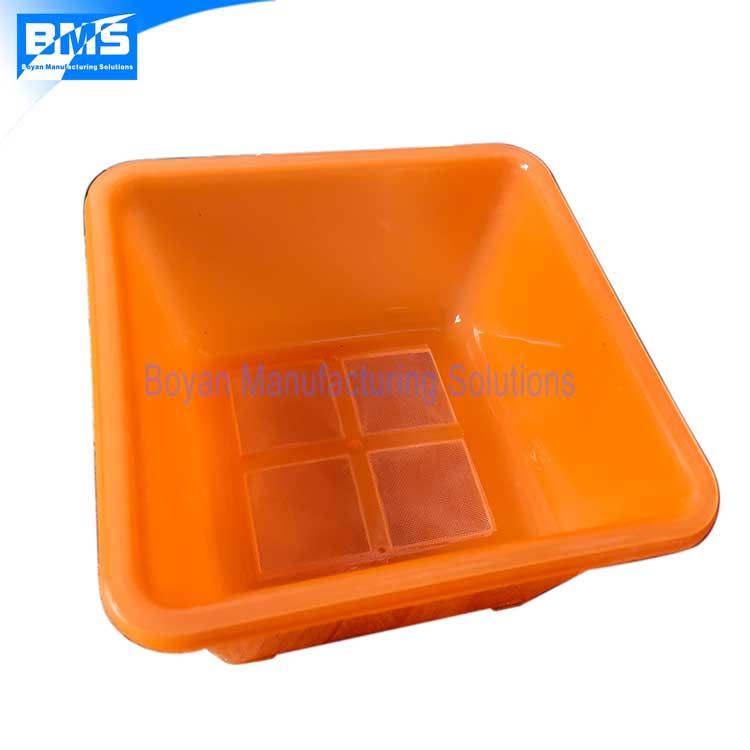 nylon mesh insert molding sample