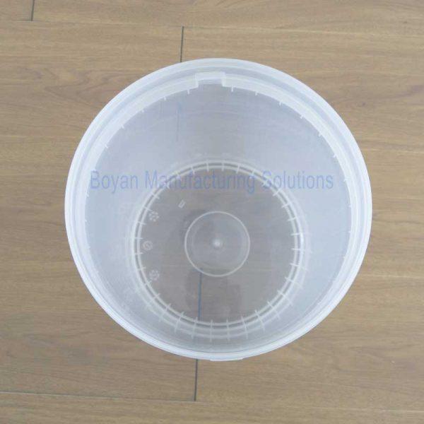 40 liter plastic barrel top view