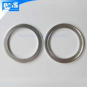 These are camera lens retaining rings, made of aluminum 6061, clear anodized