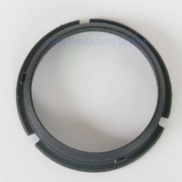 plastic part for camera lens back view