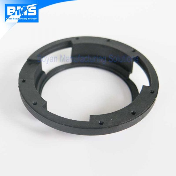 PA66 GF30 plastic part for camera lens