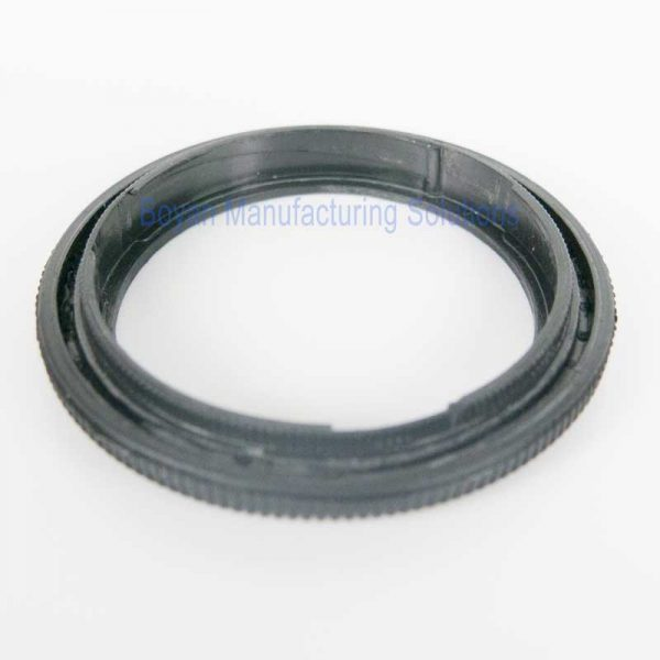 plastic camera lens retainer back view