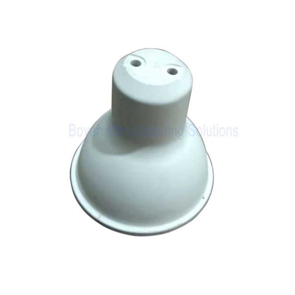 LED bulb socket top view