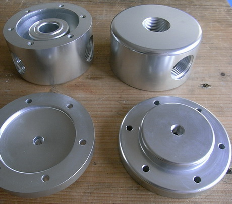 2 cnc milled and turned parts