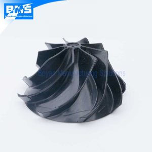 Plastic centrifugal impeller