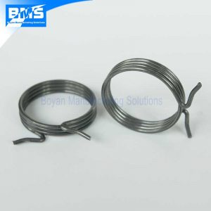 zinc plated torsion spring