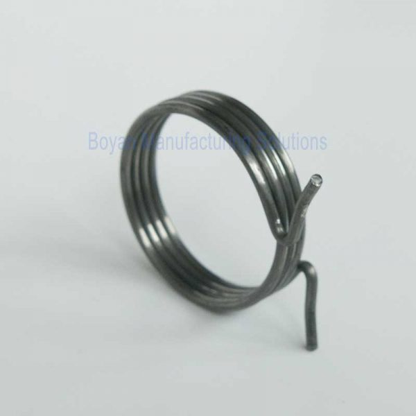 zinc plated torsion spring picture 3
