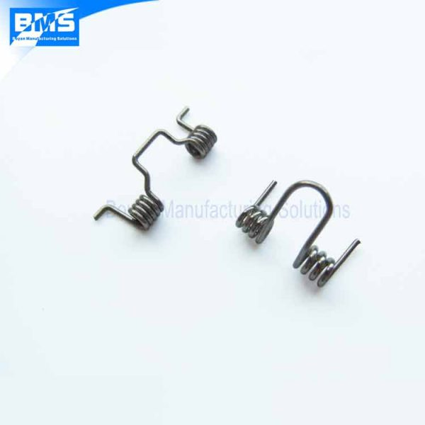 2 small double torsion springs
