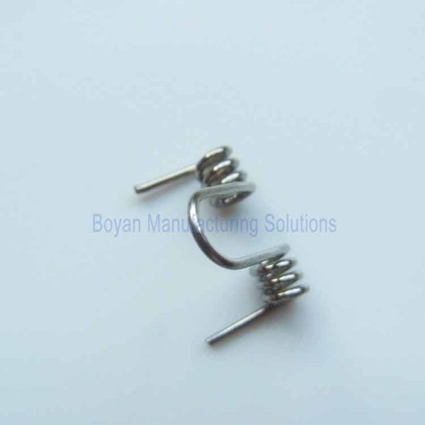 stainless small double torsion spring picture 4