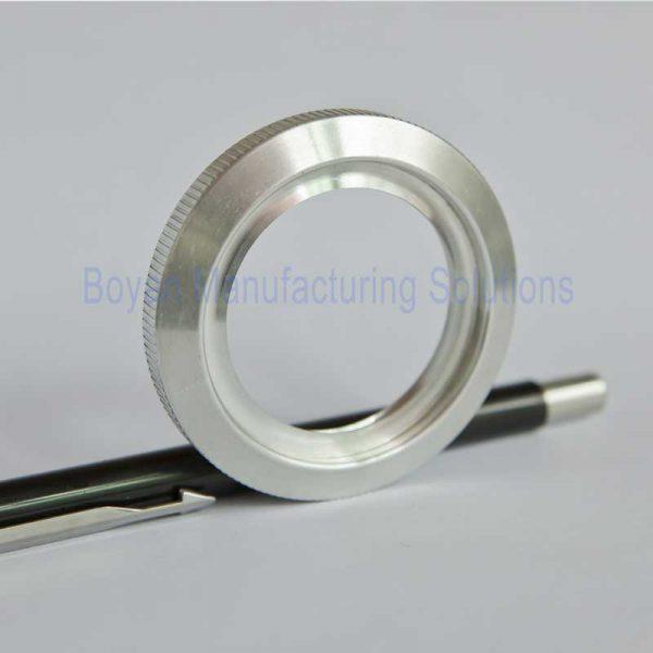 aluminum retainging ring side view
