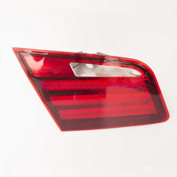 car tail light assembly front view