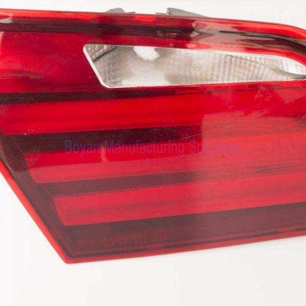 car tail light close view