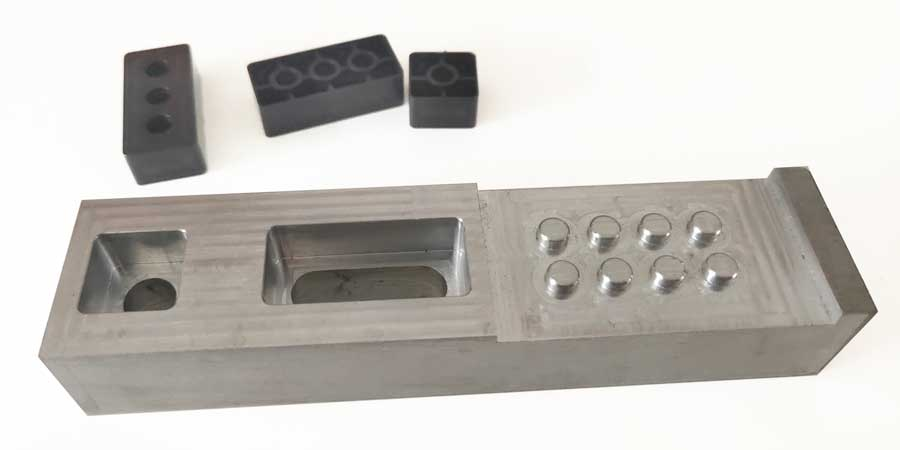 cnc machined inspection gauge for plastic bricks