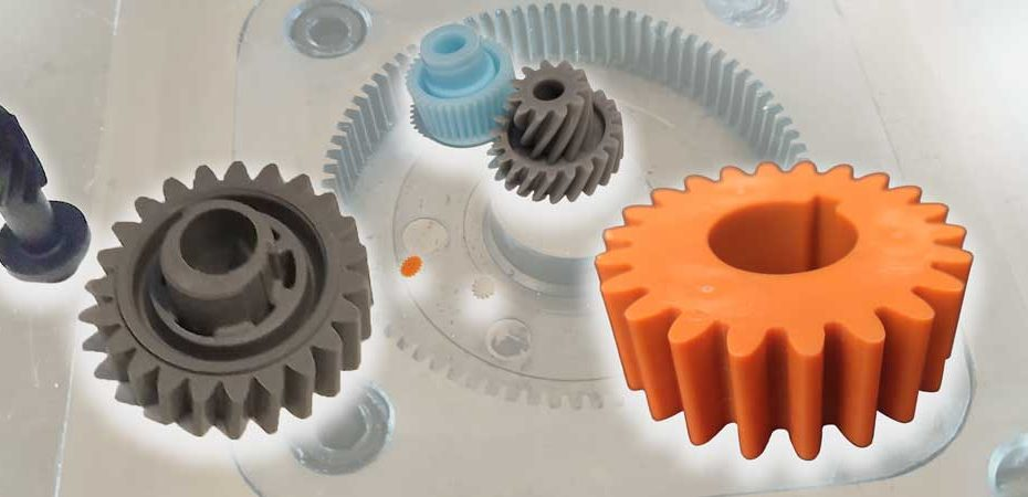 custom plastic gears injection molding