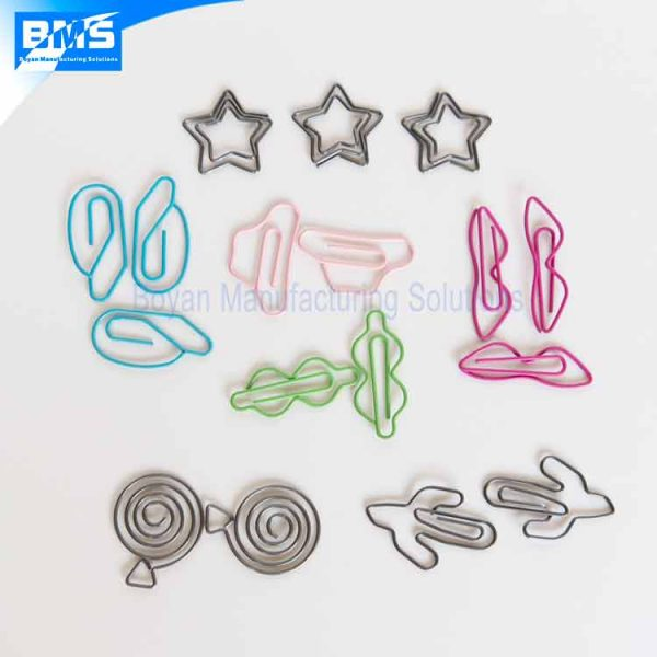 custom wire paper clips