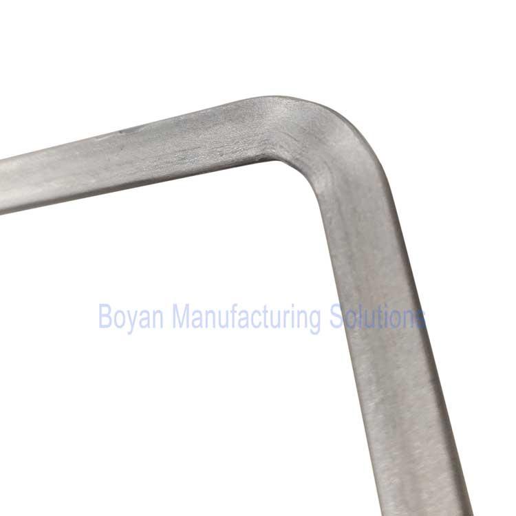 horizontal bending wrinkles flat wire