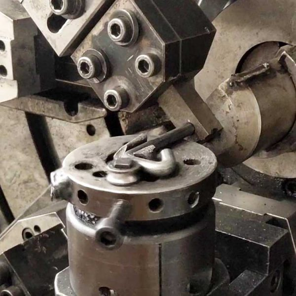 large wire forming process