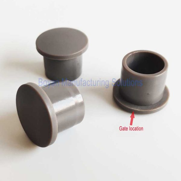 plastic end cap 3 pieces