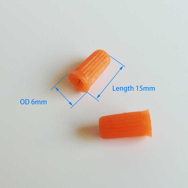small plastic cap dimensions