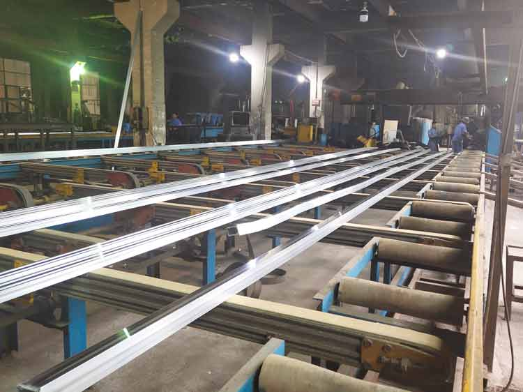 aluminum extrusions production line