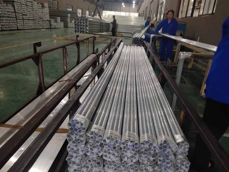 stocks of aluminum extrusions