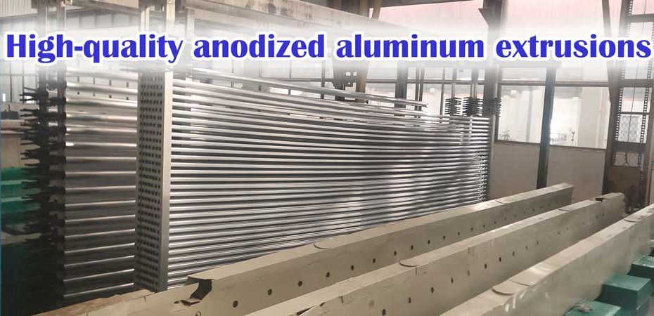 high quality anodized aluminum extrusions