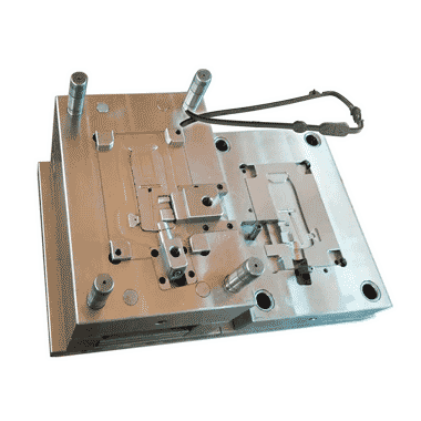 injection mold for a tpu part