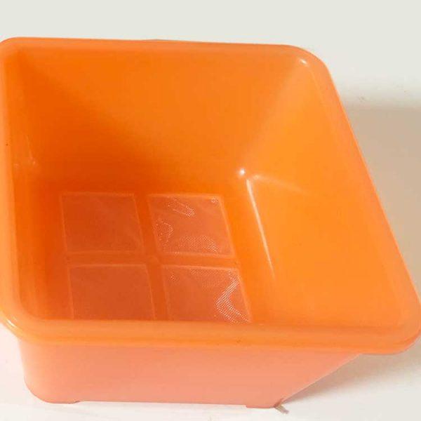 plastic mesh storage container
