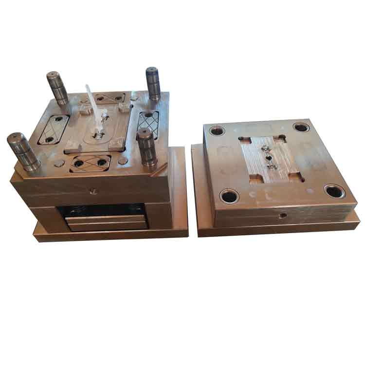injection mold for a light diffusing part