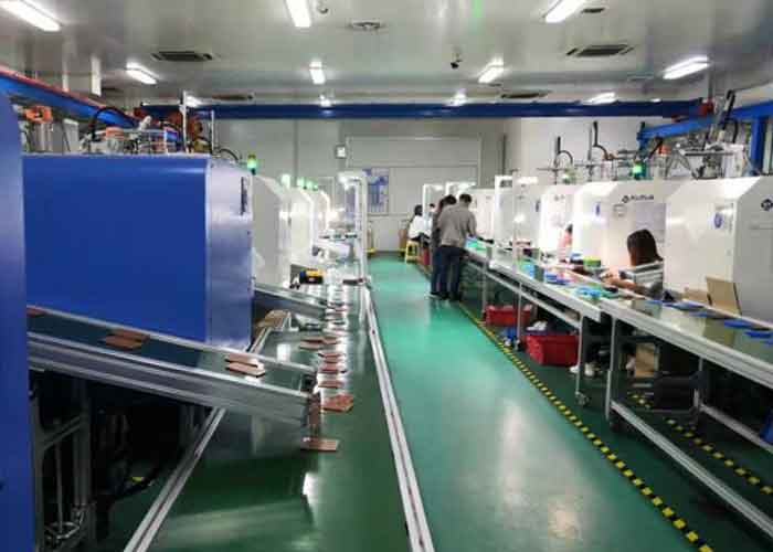 production line of plastic injection molding machine 2