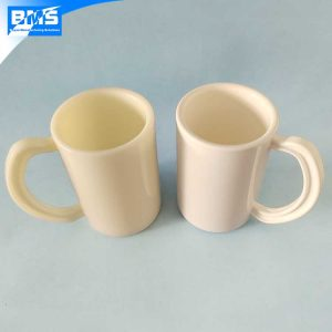 double wall plastic mug with handle
