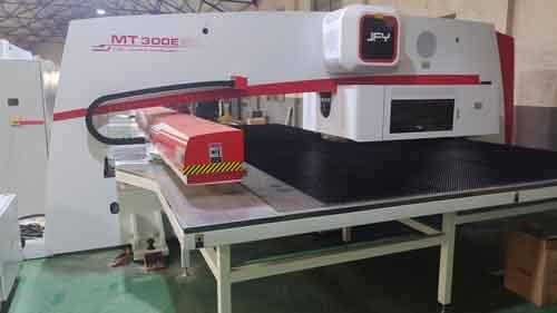 turret punch fabrication