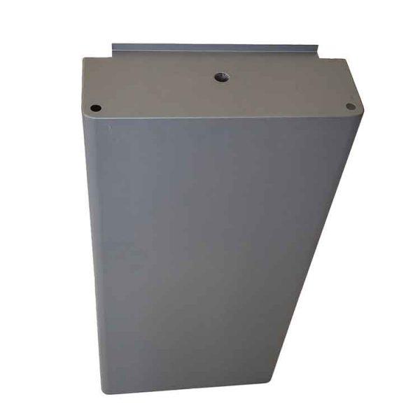 custom sheet metal drawer back view