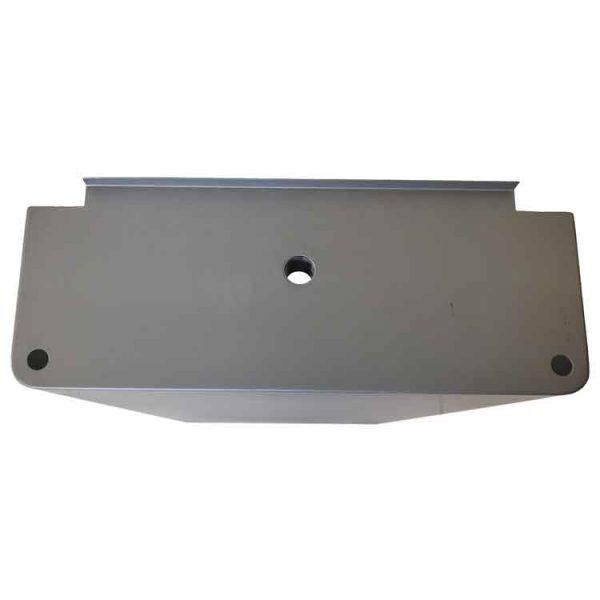 custom sheet metal drawer top view