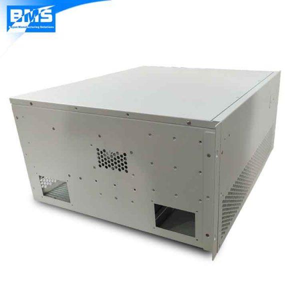 custom sheet metal enclosure for power supply
