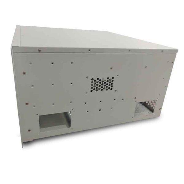 custom sheet metal enclosure right view