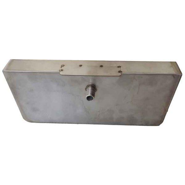 custom stainless steel box bottom view