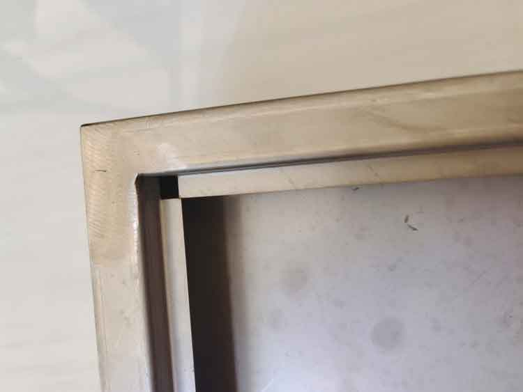 custom stainless steel box close view 1